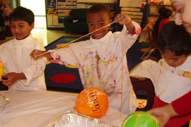 Fulton Science academy Fall center celebration