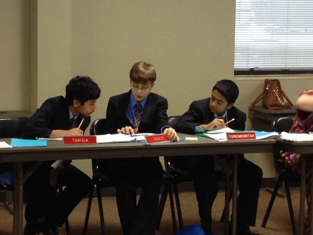 Fulton Science Academy Model UN team