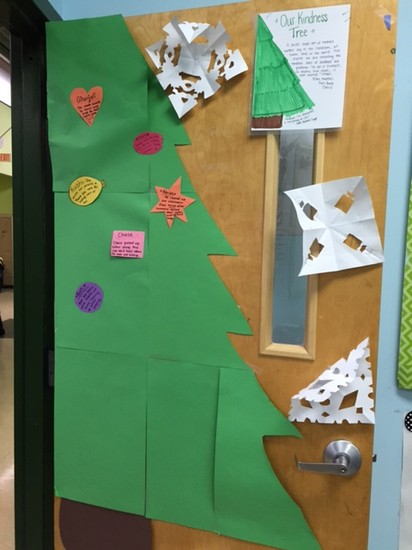 FSA FIRST GRADE KINDNESS TREE
