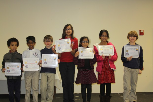 FSA SCIENCE FAIR WINNERS