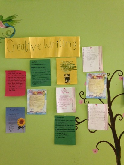 Fulton science academy private school creative writing club