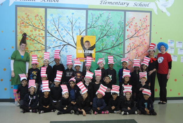 Fulton Science Academy private school dr. seuss' birthday!2
