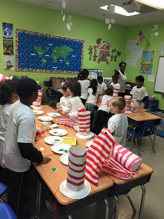 Fulton Science Academy private school dr. seuss' birthday!7