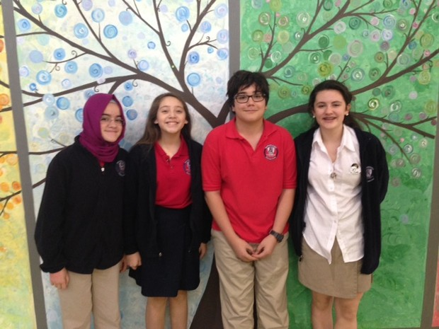 Fulton Science Academy private school language olympiads2