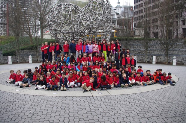 Fulton science academy private school musicial field trip
