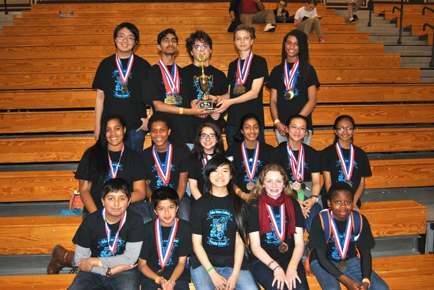 Fulton science academy private school science olympiad goes to national