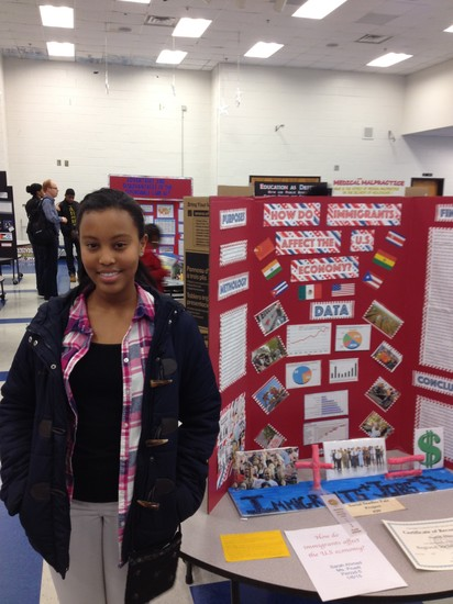 Fulton science academy private school  social studies fair3
