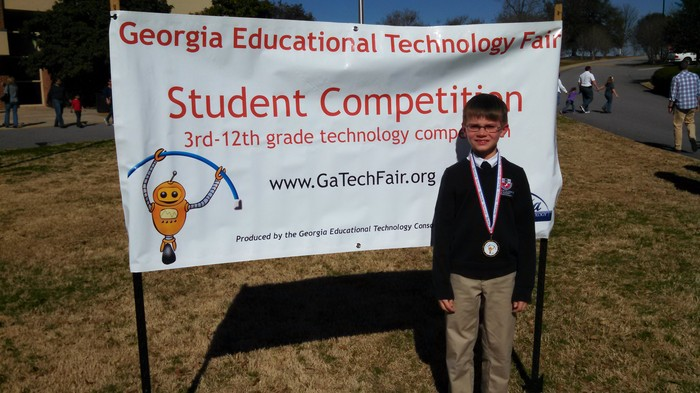 Fulton Science Academy private school state tech fair4
