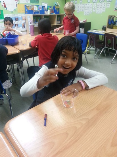 Fulton science academy private school prek and k hands on science club