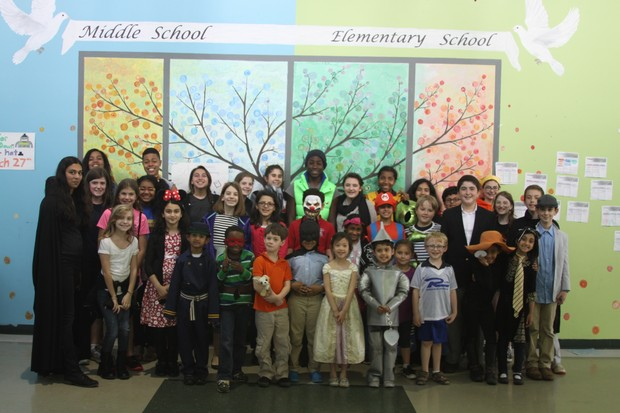 Fulton science academy private school spring book drive book character dress up.jpg3
