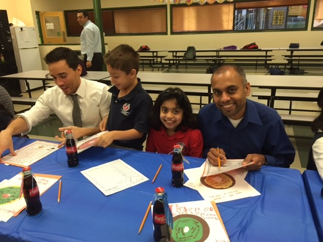fulton science academy private school first grade donuts.jpg2